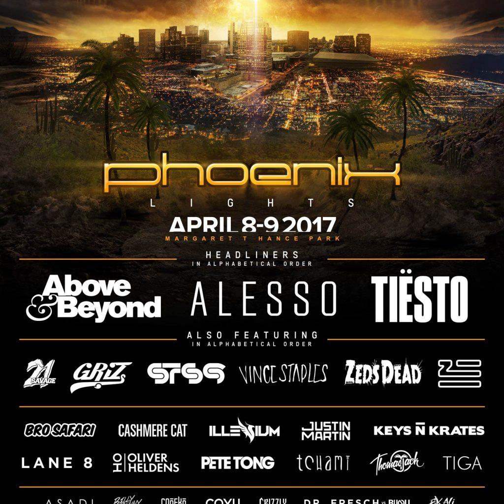 Phoenix Lights 1024x1024 - Phoenix Lights 2017 Complete Lineup