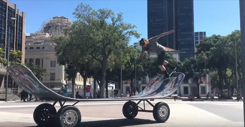 New Balance in Brazil: Franky Villani's Phone Edit