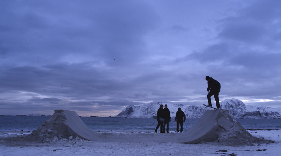 NORTHBOUND: Skateboarding on Frozen Sand