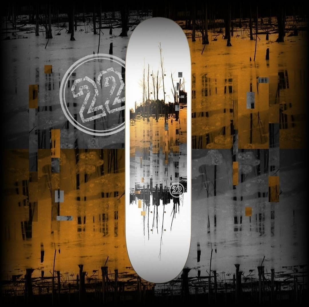 18011696 1072271976250292 7665185015994515456 n - Win a new deck  from the homies at @22BoardCo  Follow @22boardco & @shralpin  Ta...