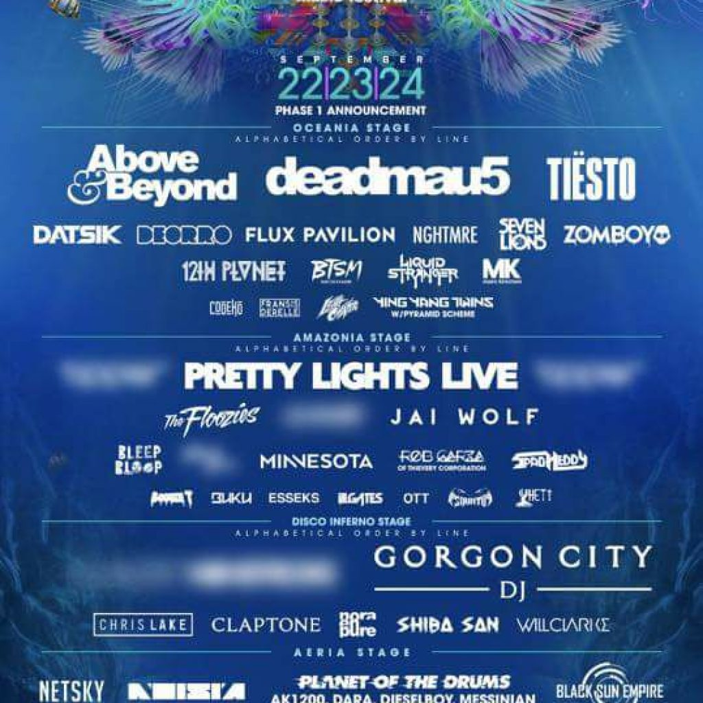 Imagine Music Festival 2017 Lineup 1024x1024 - Imagine Music Festival Announces First Round Lineup For 4th Annual Event In Atlanta, Georgia, September 22-24, 2017