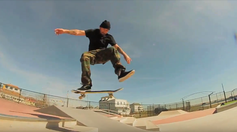 Brian Wenning at NJ Skate Plaza