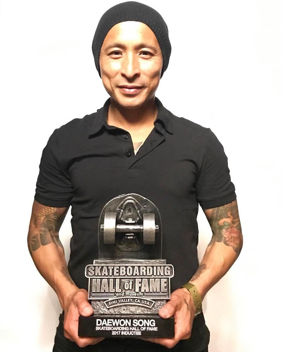 18514076 429867774060150 4199196530390859776 n - We are so happy to hear that @daewon1song was inducted in the @skateboardinghall...