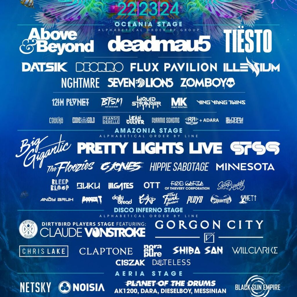 Imagine Music Festival 2017 Lineup