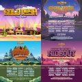 Goldrush Music Festival Stages