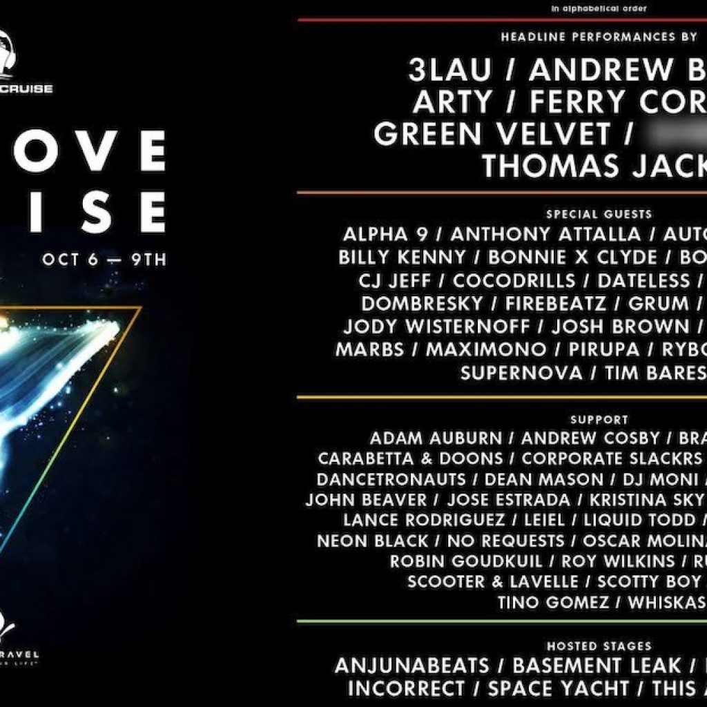 Groove Cruise Los Angeles 2017 Lineup 1024x1024 - Groove Cruise Los Angeles 2017 Lineup