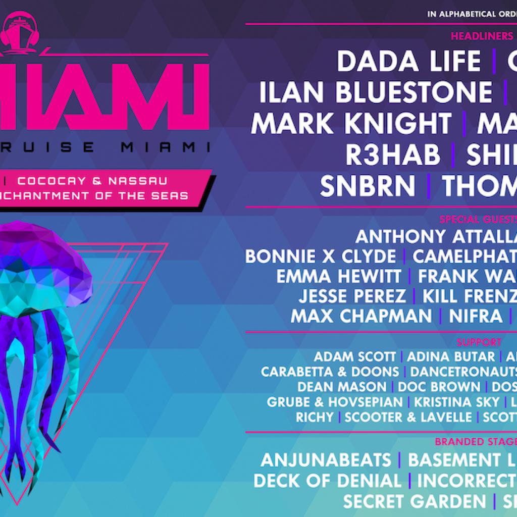 Groove Cruise Miami 2018 Lineup 1024x1024 - Groove Cruise Miami 2018 Lineup