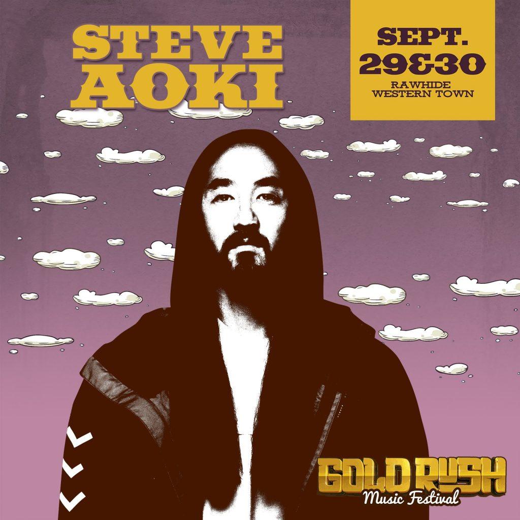 Goldrush 2018 Deadmau5 Steve Aoki 1024x1024 - Relentless Beats Taps Deadmau5 And Steve Aoki As First Headliners For Goldrush Music Festival