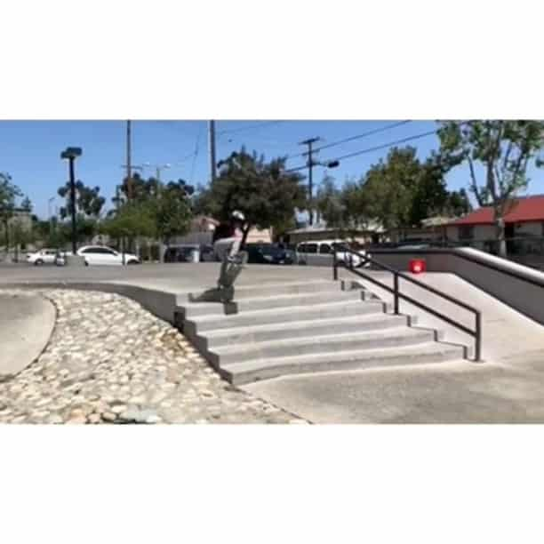 34184484 1739730119476082 9108854567927283712 n - Ever since @zachariahsanchez was 2 Years old he wanted to Ollie these 6 stairs. ...