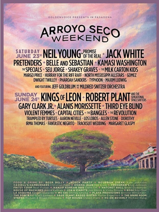 Arroyo Seco Weekend 2018 Lineup