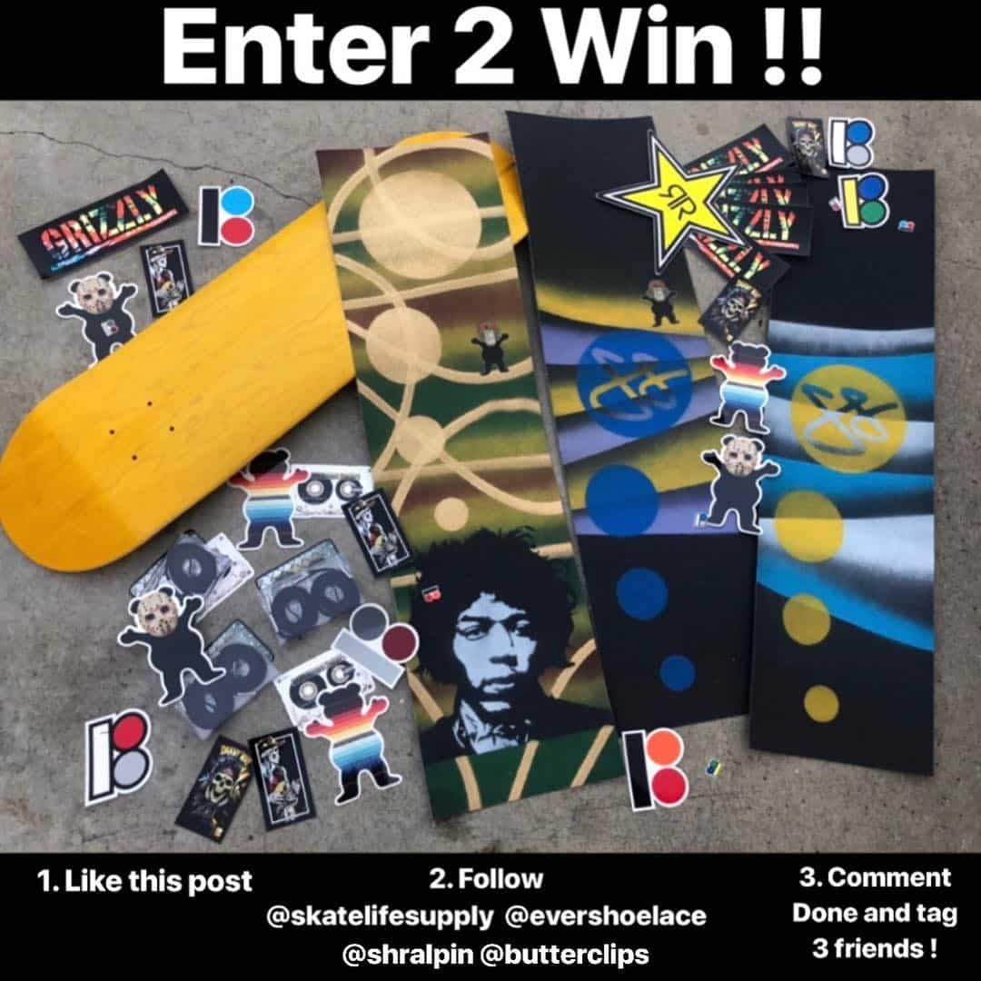 38685287 312312572661516 5025356235923259392 n - Enter to Win this buttery box by @butterclips and @shralpin  From @skatelifesup...