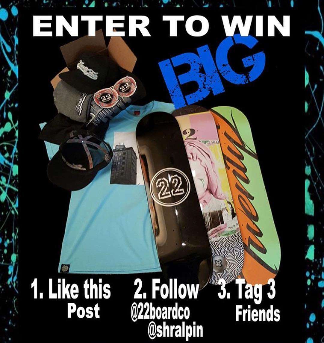 42903586 278775469637096 8689453628275227512 n - Enter to win this huge package from @22boardco   1. Like this post 2. Follow @22...