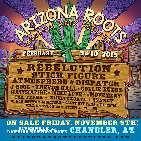 Roots Music Arts Festival 2019 - The Inaugural Arizona Roots Music & Arts Festival At Rawhide Western Town Is Coming February 9 & 10, 2019