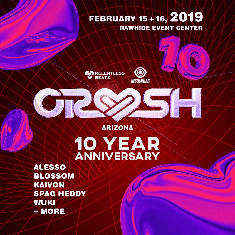 Crush Arizona 2019 - 10th Anniversary Crush Arizona Expands To Two Days, February 15-16, 2019