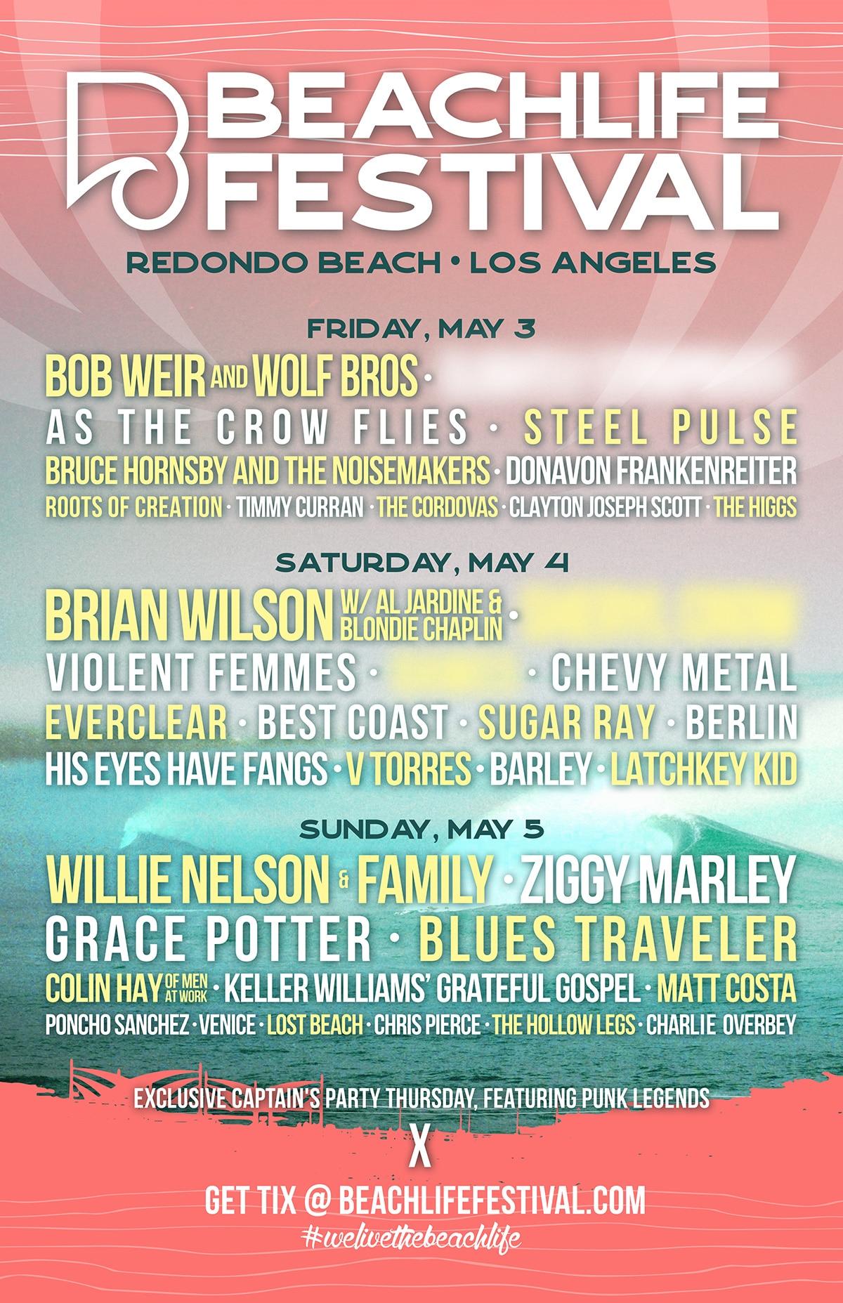 BeachLife Festival 2019 Lineup