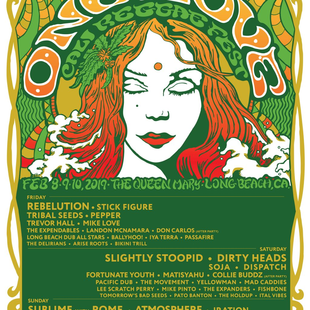 One Love Cali Fest 2019 Lineup 1024x1024 - One Love Cali Fest 2019 Full Lineup