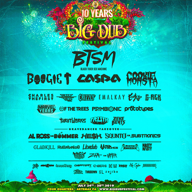 Big Dub Festival 2019 Lineup - Big Dub Festival 2019 Lineup