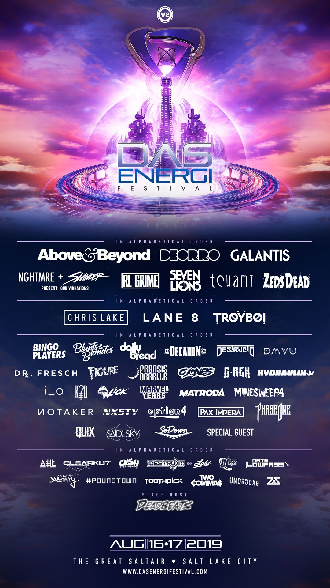 Das Energi 2019 Lineup - Das Energi Releases Full Lineup for 2019 Festival