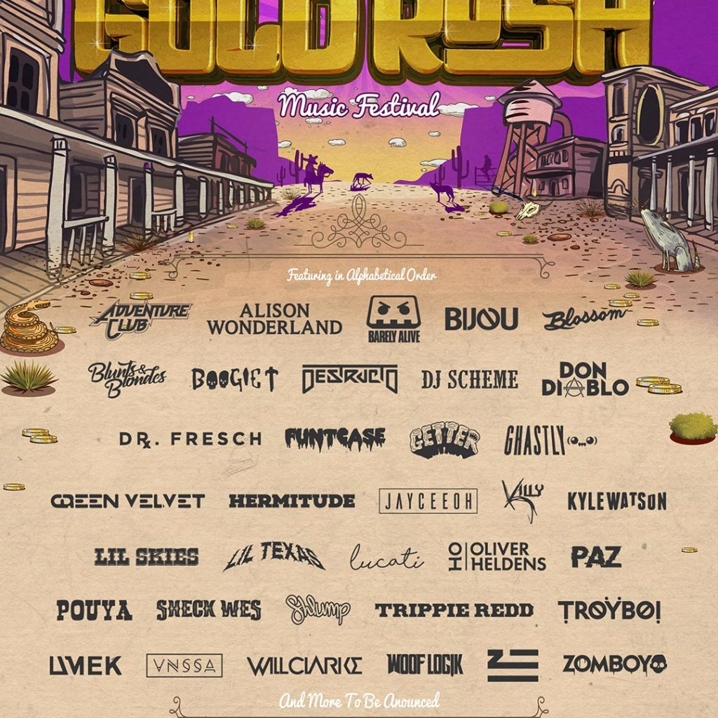 Goldrush Digs Deep On Second Round Lineup For Third Annual