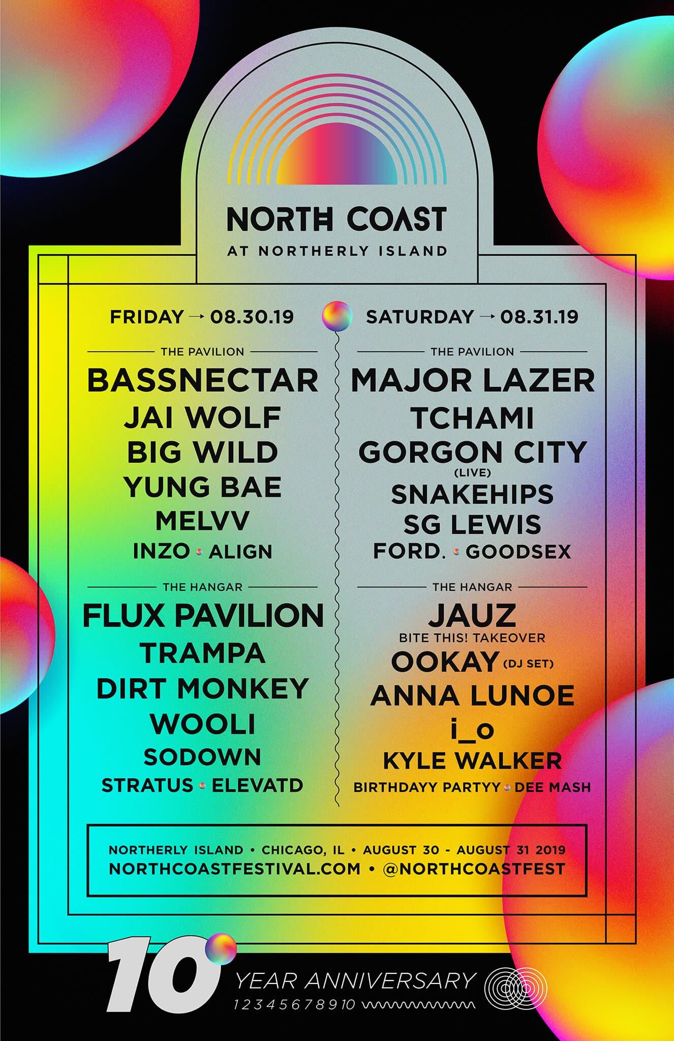 north coast music festival 2019 lineup - North Coast Music Festival 2019 Lineup