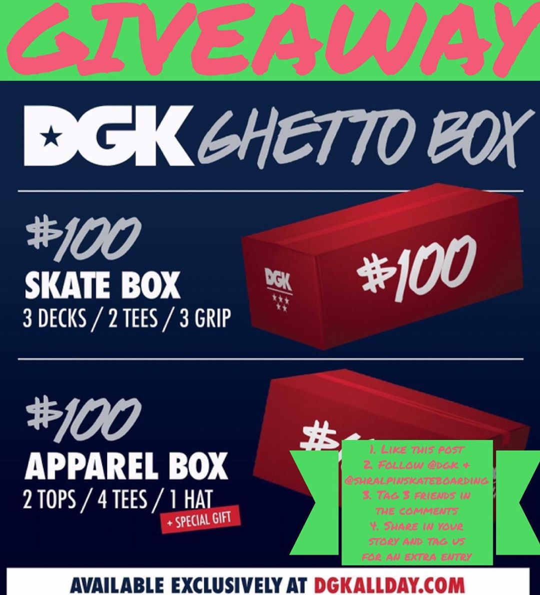 73527663 203704443986347 7035924562704850763 n - BLACK FRIDAY GIVEAWAY  Enter to win a mystery box from our friends at @dgk   To...