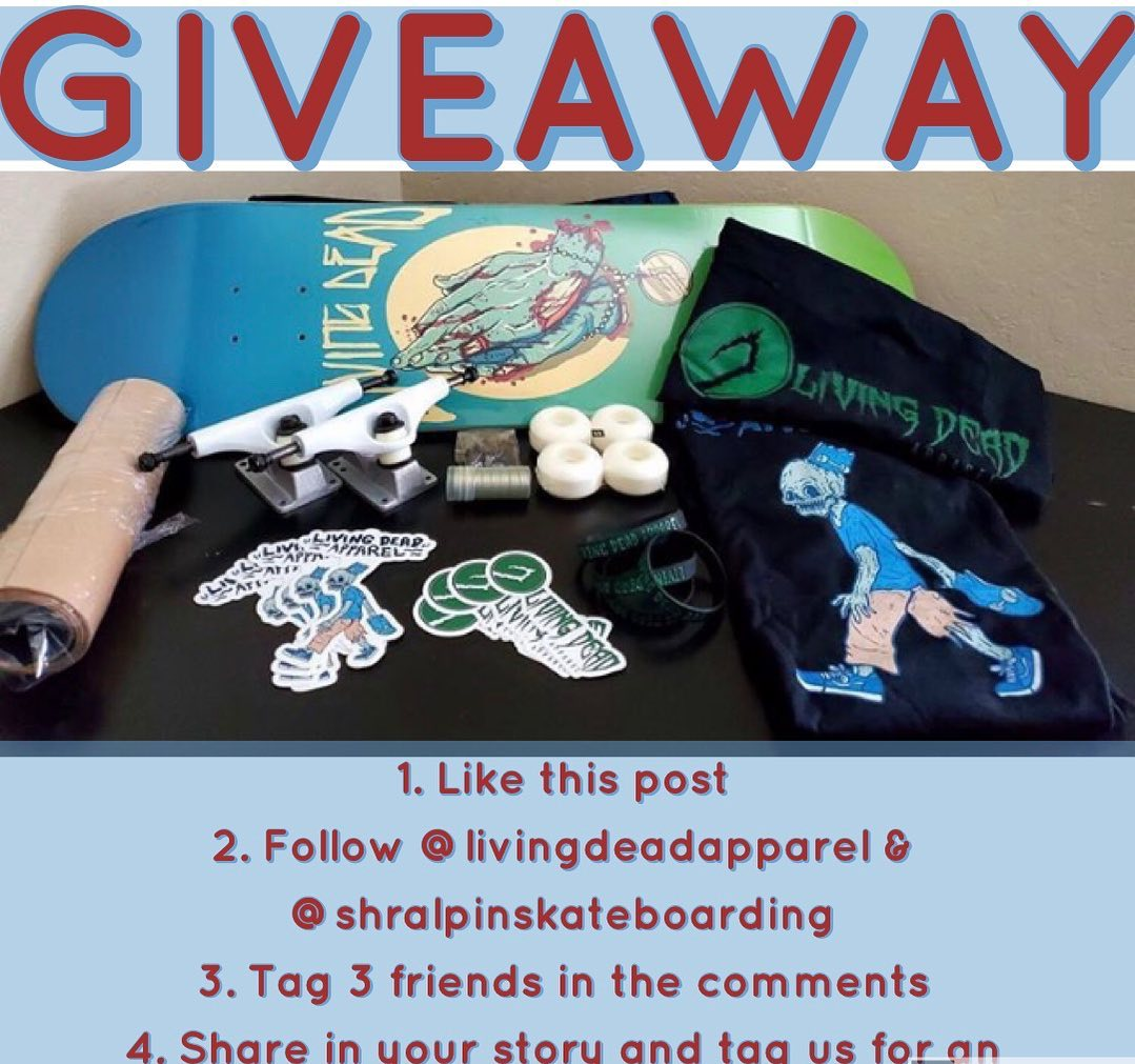 GIVEAWAY  Enter to win this huge prize pack including a complete board from our…