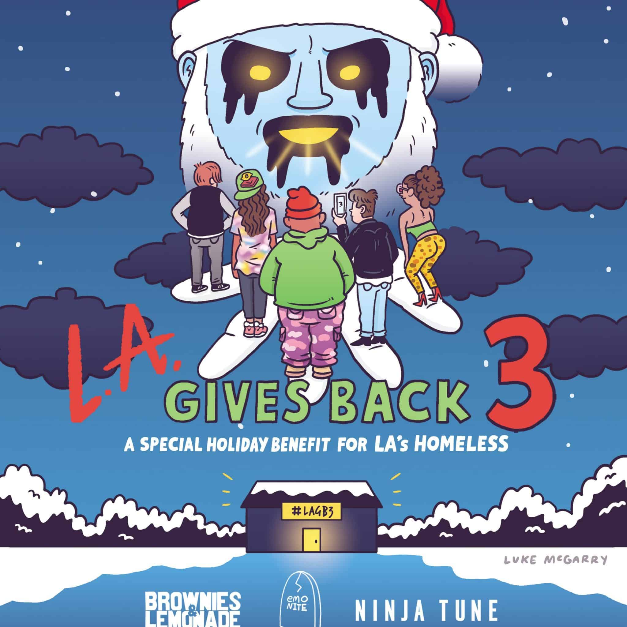 LA Gives Back 2019 Lineup scaled - LA Gives Back - 4th Annual Holiday Benefit Series For The Los Angeles Homeless
