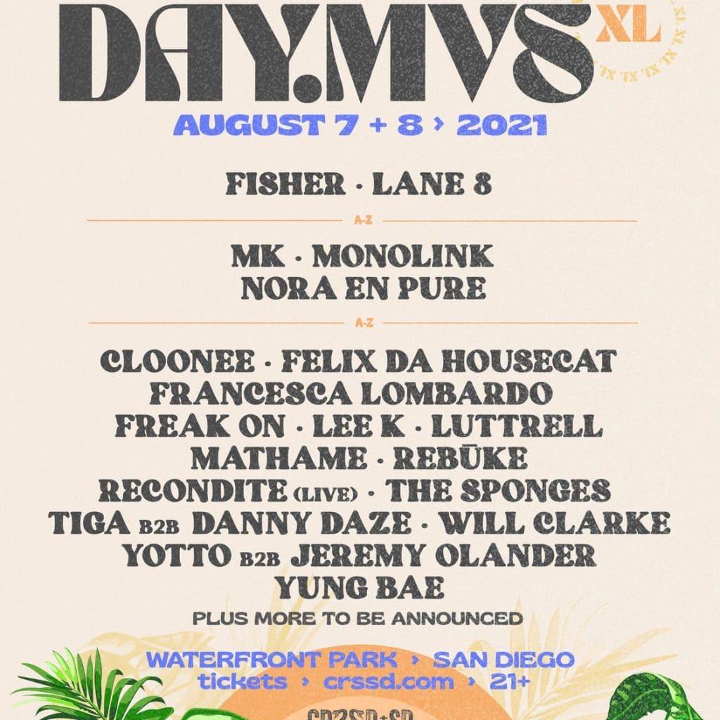 DAY MVS San Diego 2021