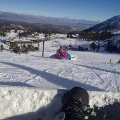 Taking a break from #skateboarding to go #snowboarding in #MammothLakes #Shralpi…