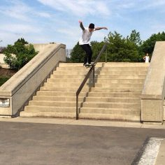 5-0's are fun just ask @austin_dox and he threads the needle at the #DcSkatePlaz…