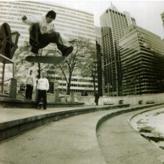 #TBT to a missed skateboarding gem, #LOVEpark with a stylish kickflip from @kerr…