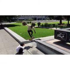 Impossible nose slide at #Jkwon by #DerekBurdette AKA ghost!  : @jp_souza…