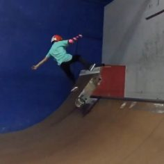 Injuries can't stop 9 year old @lazercrawford from shralpin at the park  #Shralp…