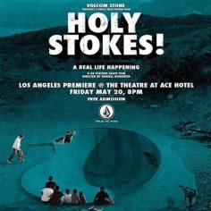 Whose coming out tonight for the LA @volcomskate premier #HolyStokes?…