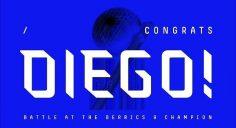 Congrats @_diegonajera #BATB9…