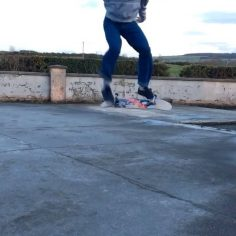 Half cab double flip casper @_jamiegriffin .  #shralpin#skateboard#skateboarding…