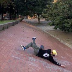 Nollie gazelle heelflip @michalsuchopar  @radiminarik #shralpin #skateboarding…