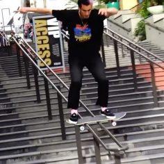 Boardslide or Ollie? We like both @davidloy #shralpin…