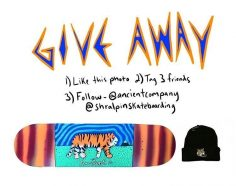 GIVEAWAY  Enter to win this deck from our friends at @ancientcompany  To Enter …