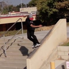 Check out @ryandecenzo's part that dropped today on the @berrics…