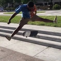 What happened next to @onlyoneletter… comment below 🤦️via @pactskateboarding…