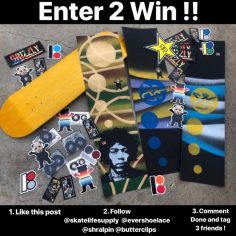 Enter to Win this buttery box by @butterclips and @shralpin  From @skatelifesup…