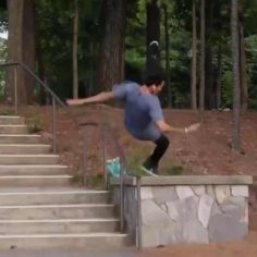This slam from @nyjah is brutal  #HallOfMeat…