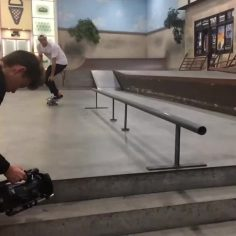 This was the hardest trick @shawnhaller's ever done ️…