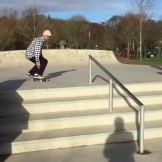 Dave Murphy smoothing it out! @skatealldaydave : @deadcanaryskate…