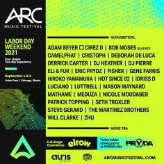 ARC Music Festival to Debut September 4-5 2021 in Chicago's Union Park