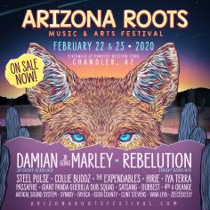 Arizona Roots Music & Arts Festival Returns Rawhide Event Center, February 22 & 23, 2020