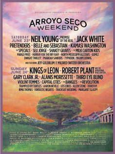 Arroyo Seco Weekend Announces 2018 Festival Lineup