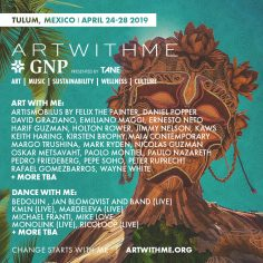 Art With Me *GNP Tulum Announces Phase One Lineup Featuring Music From Michael Franti, Bedouin, Jan Blomqvist & The Band, And Monolink And Art From Keith Haring, Ernesto Neto, Pedro Friedberg, And Mark Ryden