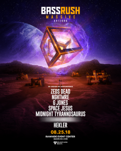 Relentless Beats Annnouces Bassrush Massive Arizona, August 25, 2018
